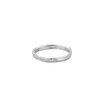 Mens Silver Mini Posey Ring