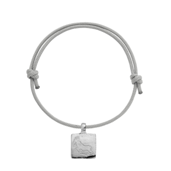 Silver Medium Aries Horoscope Sailing Rope