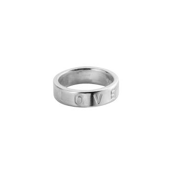 Silver Midi Signature Ring