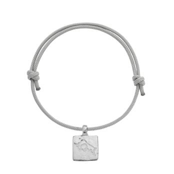 Silver Medium Taurus Horoscope Sailing Rope
