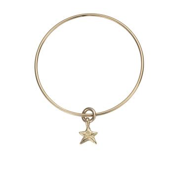 Gold Mini Star Bangle