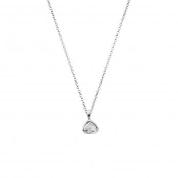 PETITE MONTAGNE White Gold Antique Diamond Necklace