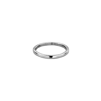 Platinum Simple Wedding Band
