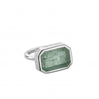 SIERRA Silver Emerald Ring