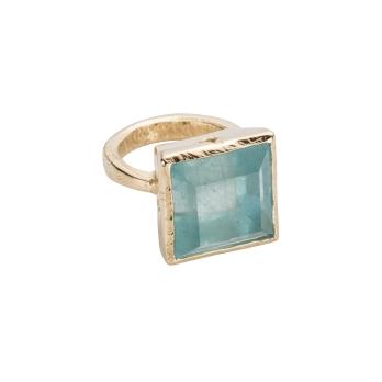 THETIS Aquamarine Gold Ring