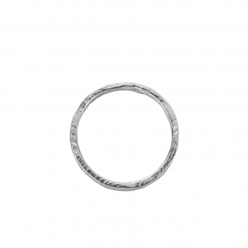 White Gold Ladies Mini Posey Ring detailed