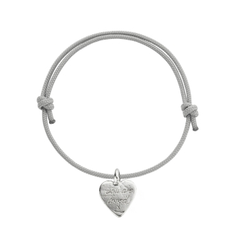 Silver Medium You Are Loved Sailing Rope