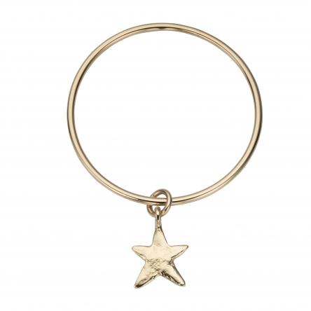 Gold Maxi Star Bangle