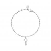 Silver Mini Dreamer's Key Chain Bracelet