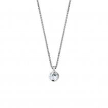 DAHLIA White Gold Diamond Necklace