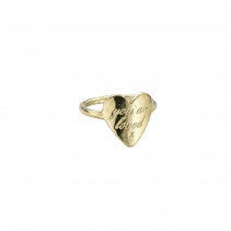 Gold You Are Loved Ring