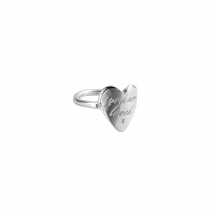 Silver You Are Loved Ring
