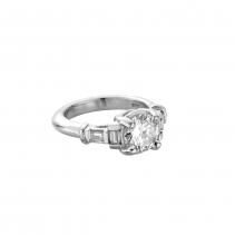 The EIGER Platinum Diamond Ring