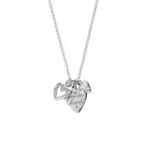 Silver A Lot Of Love Necklace