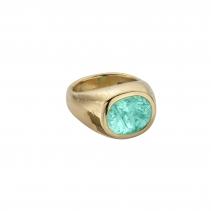 AURORA Gold Paraiba Tourmaline Ring