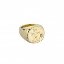 Gold Jupiter Ring