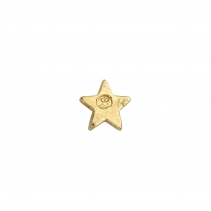 Gold Little Star Single Ear Charm