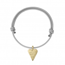 Gold Medium Heart Sailing Rope