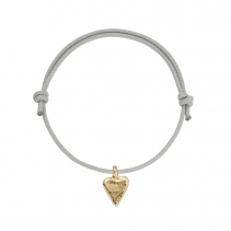 Gold Mini Heart Sailing Rope