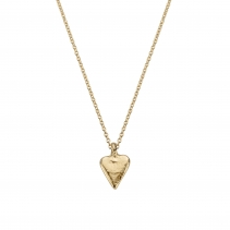 Gold Mini Heart Necklace