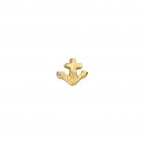 Gold Tiny Anchor Single Ear Charm