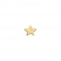Gold Tiny Star Single Ear Charm