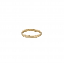 Ladies Gold Posey Ring