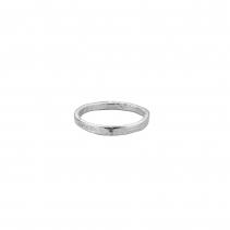 Ladies Silver Mini Posey Ring