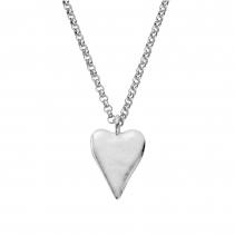 Silver Maxi Heart Necklace