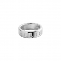 Silver Maxi Signature Ring