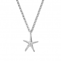 Silver Maxi Starfish Necklace