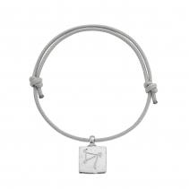Silver Medium Sagittarius Horoscope Sailing Rope