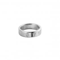 Silver Signature Ring