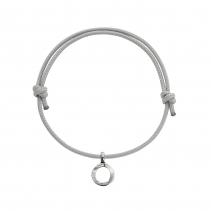 Silver Mini Open Circle Sailing Rope