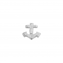 Silver Little Anchor Single Ear Charm