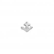 Silver Tiny Anchor Single Ear Charm