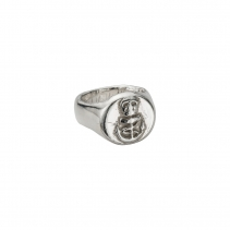 Silver Unisex Pirate Ring