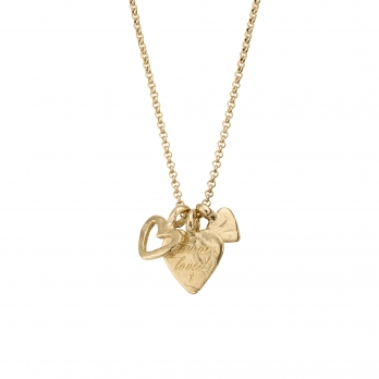 Gold A Lot Of Love Necklace