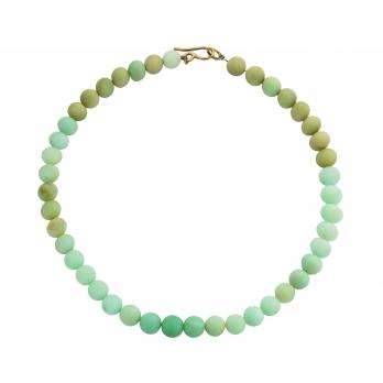 YARKONA Chrysoprase Small Bead Necklace