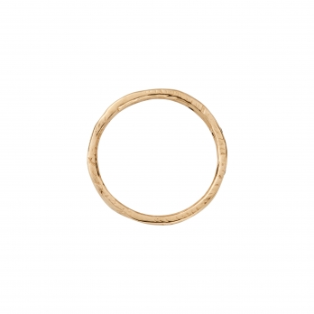 Gold 5 Diamond Mini Posey Ring detailed