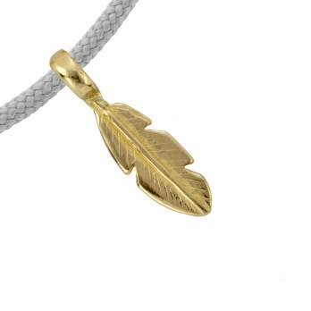 Gold Mini Feather Sailing Rope detailed