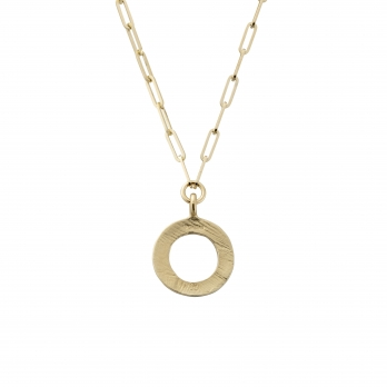 Gold 4 Diamond Luxury Forever Necklace detailed