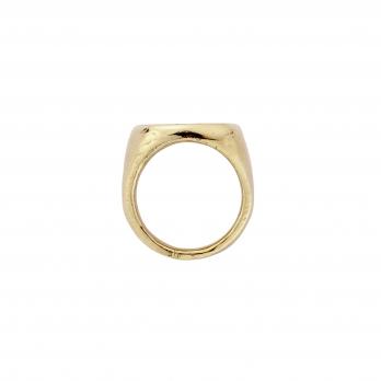 Gold Jupiter Ring detailed