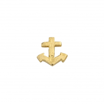 Gold Little Anchor Single Ear Charm
