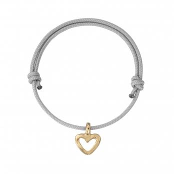 Gold Mini Open Heart Sailing Rope