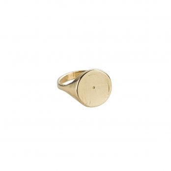 Gold Roman Signet Ring