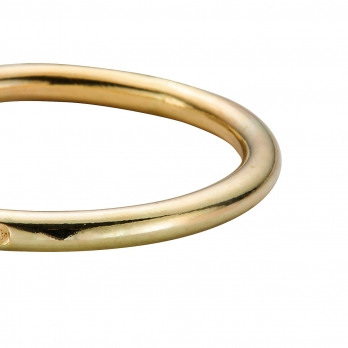 Gold Stack Ring detailed
