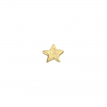 Gold Tiny Star Single Ear Charm