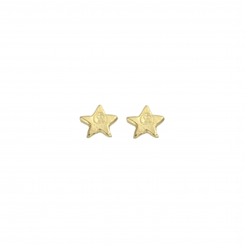 Gold Tiny Star Ear Charm Set