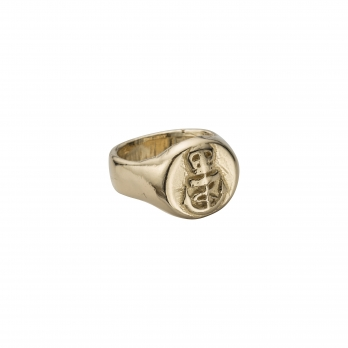 Gold Nautical Ring